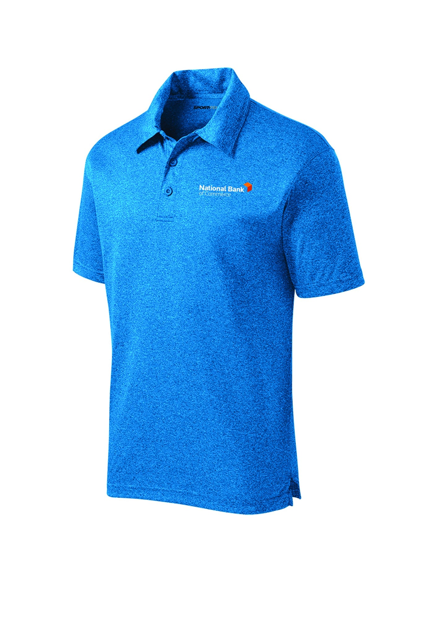 NBC POLO ST660 Sport-Tek® Heather Contender™ with embroidered logo