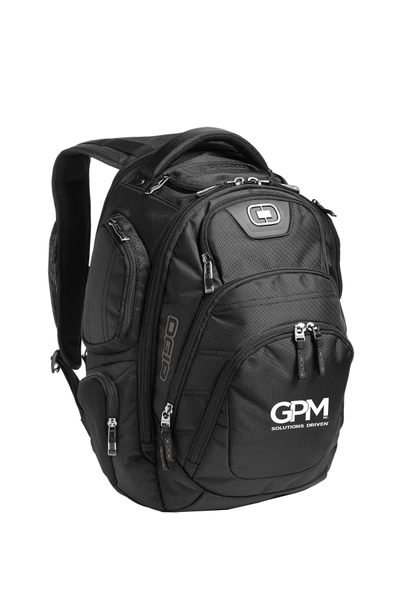 GPM Backpack OGIO® Stratagem Pack with white embroidered logo