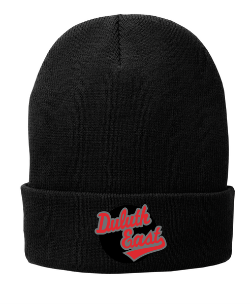Cuff Beanie with Embroidered logo