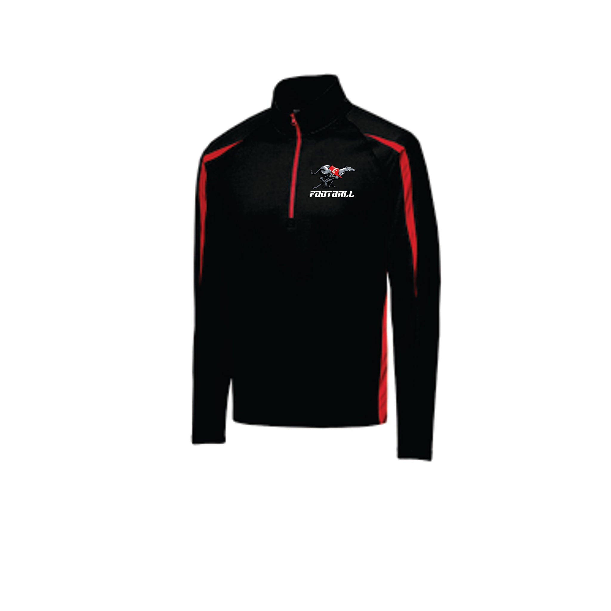 ST851  Sport-Tek® Sport-Wick® Stretch 1/2-Zip Colorblock Pullover with embroidered logo