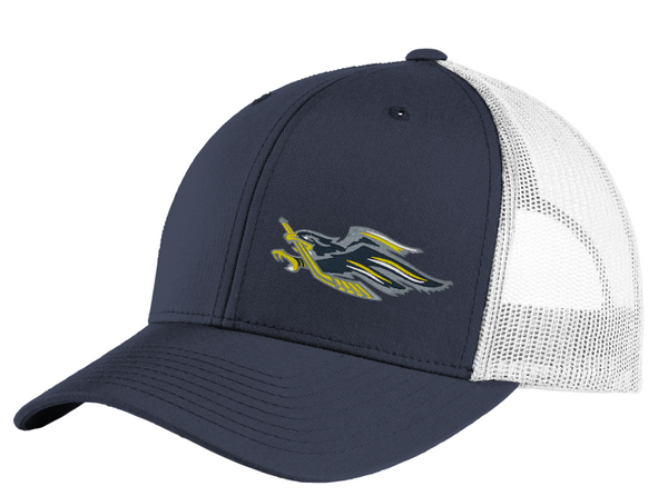 Hermantown Sport-Tek ® STC36 Yupoong ® Retro Trucker Cap with embroidered logo