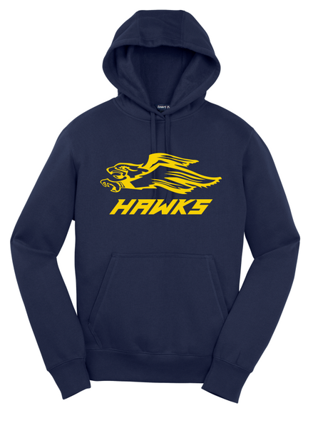 Hermantown ADULT ST254 Sport-Tek® Pullover Hooded Sweatshirt with one color logo