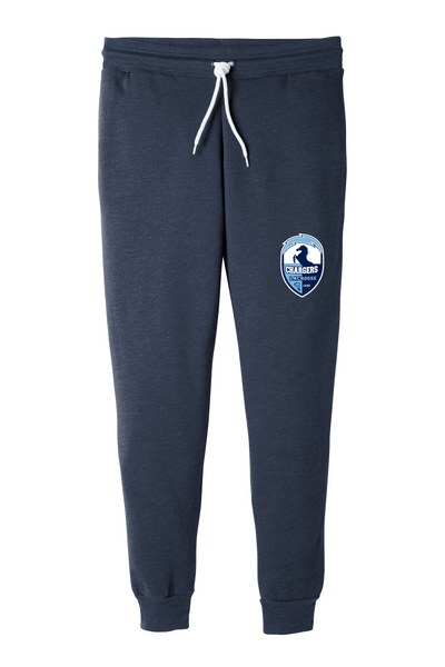 BC3727 Bella+Canvas ® Unisex Jogger Sweatpants with embroidered logo