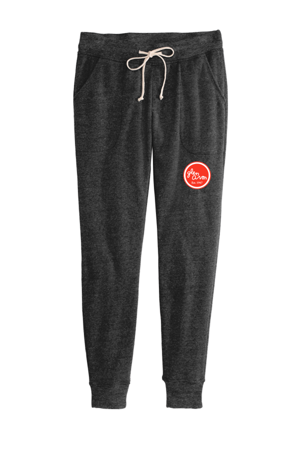 LADIES AA31082 Alternative Women's Jogger Eco™-Fleece Pant with Embroidered Circle Logo