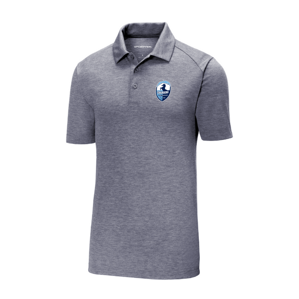 ST405 Sport-Tek ® PosiCharge ® Tri-Blend Wicking Polo with embroidered logo