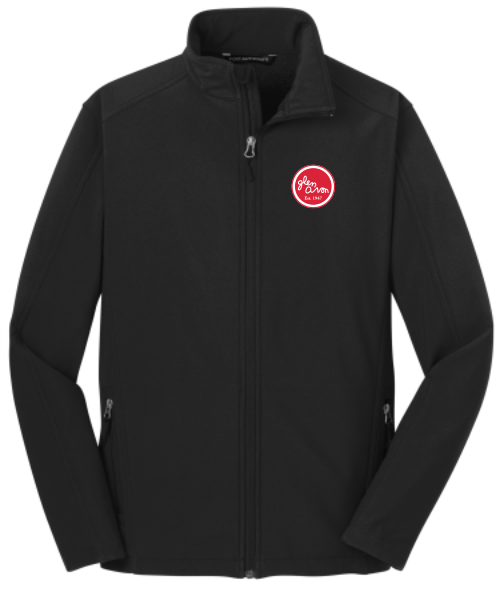 MEN'S GLEN AVON J317 Port Authority® Core Soft Shell Jacket with embroidered CIRCLE logo