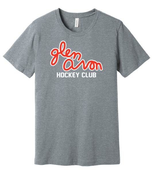 YOUTH GLEN AVON BC3001Y BELLA+CANVAS ® Youth Jersey Short Sleeve Tee with 2 color printed Script logo