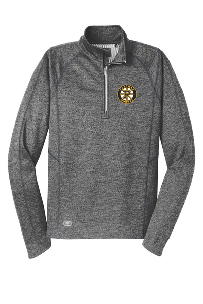 OE500 OGIO® ENDURANCE Pursuit 1/4-Zip with embroidered logo