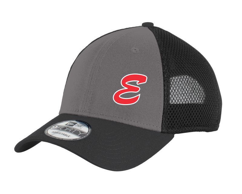 NE204 New Era® - Snapback Contrast Front Mesh Cap with embroidered logo