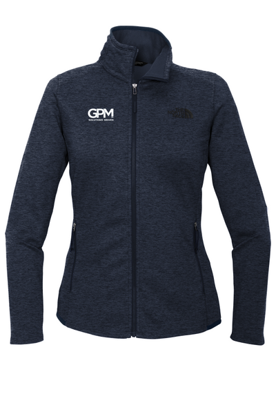 GPM The North Face ® Ladies Skyline Full-Zip Fleece Jacket with one color embroidered logo