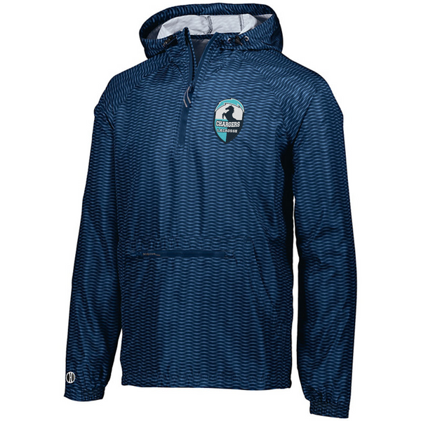 Youth and Adult Holloway Range Packable Pullover with embroidered logo
