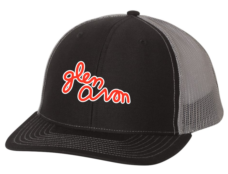 GLEN AVON Richardson - Snapback Trucker Cap - 112 with CIRCLE or SCRIPT LOGO