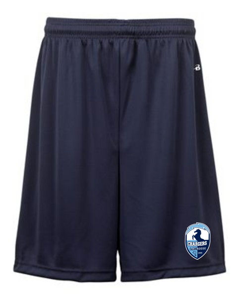 "YOUTH Badger - B-Dry 6"" Shorts - 2107 with logo"