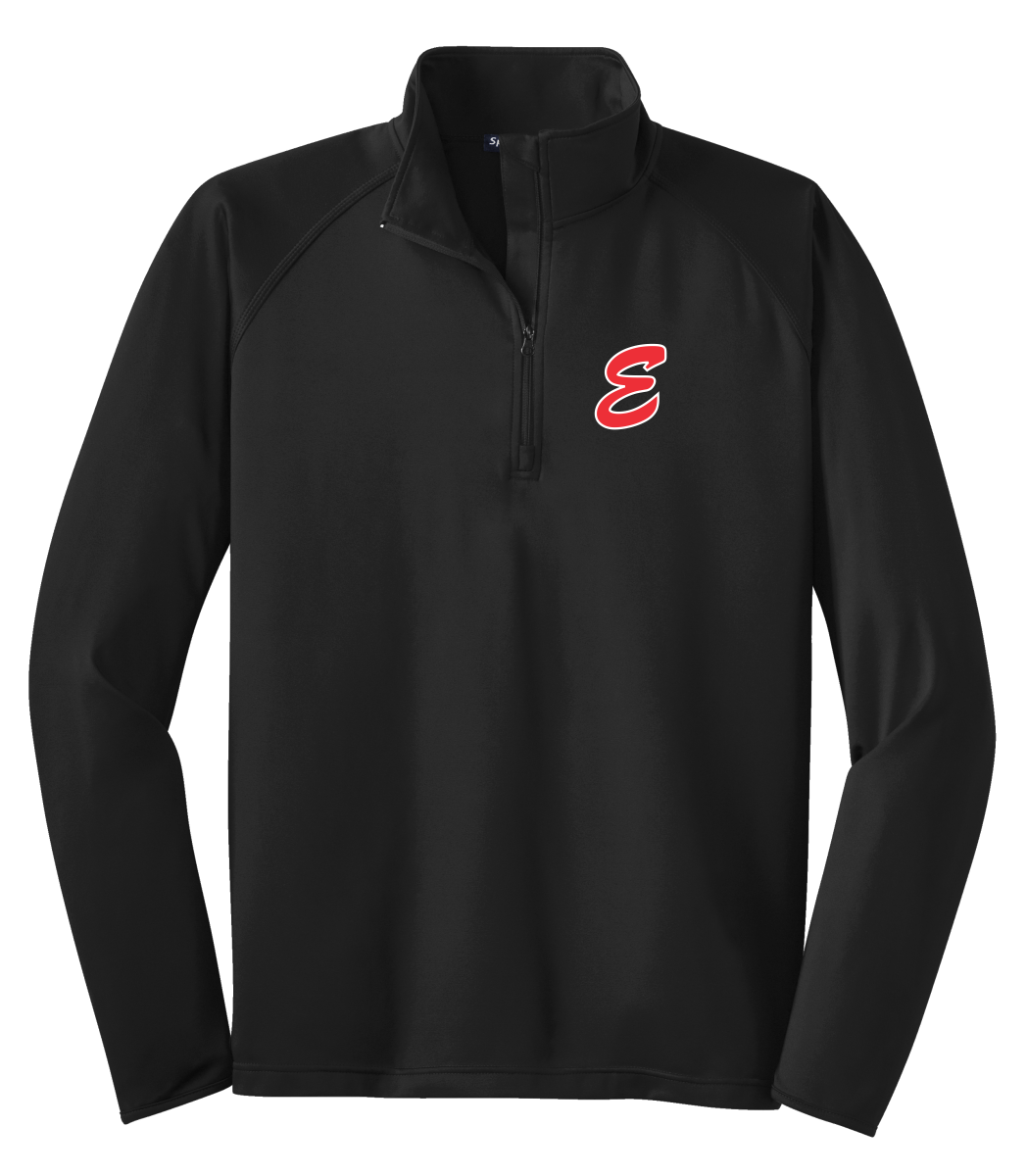 MENS ST850  Sport-Tek® Sport-Wick® Stretch 1/2-Zip Pullover with embroidered E logo