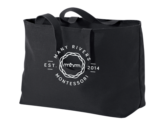 B300 Port Authority® - Jumbo Tote with heat transfer logo