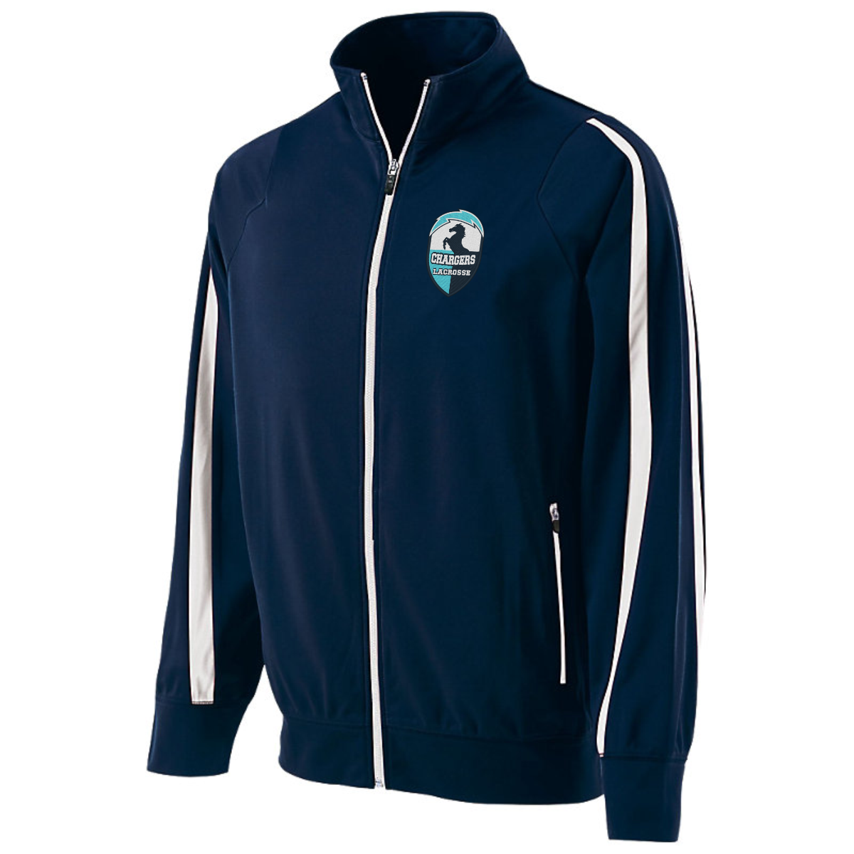 Holloway Youth, Ladies, and Adult Determination Jacket with embroidered logo