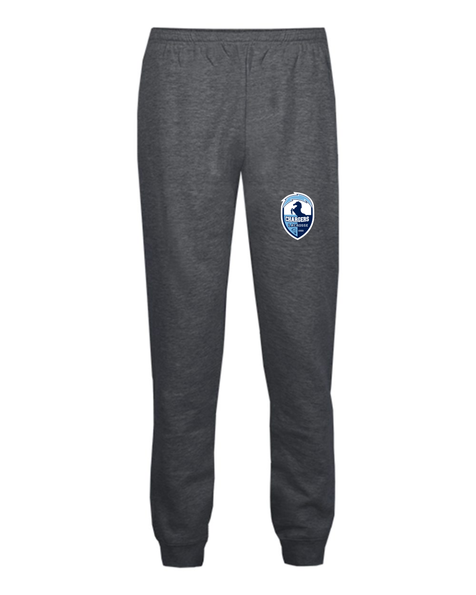 Badger - YOUTH Athletic Fleece Jogger Pants - 2215 with embroidered logo