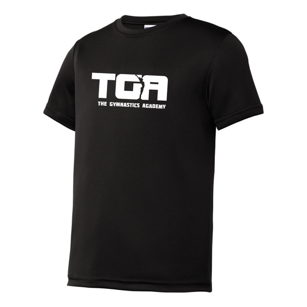 YST350  Sport-Tek® Youth PosiCharge® Competitor™ Tee with heat transfer logo