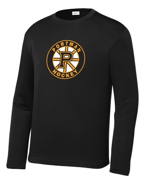 YOUTH YST350LS Sport-Tek® Long Sleeve PosiCharge® Competitor™ Tee with Printed Logo
