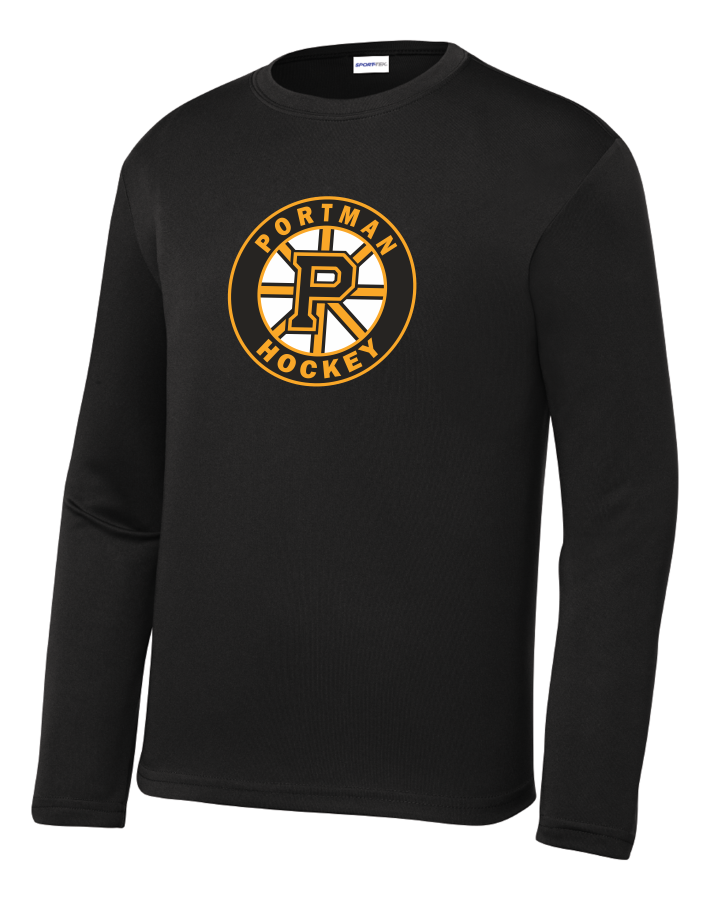 ADULT ST350LS Sport-Tek® Long Sleeve PosiCharge® Competitor™ Tee with Printed Logo