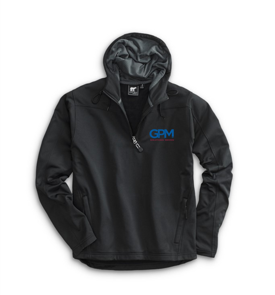 GPM White Bear  PERFORMANCE HOODY 4670 with embroidered GPM or MADE TOUGH Logo
