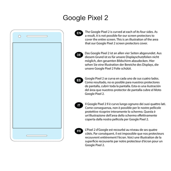 Google Pixel 3a Screen Protector (Ultra-Tough, Glass-Free) | Magicscreen