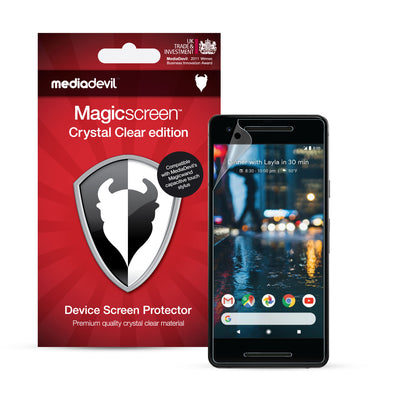 Google Pixel 3a XL Screen Protector (Ultra-Tough, Glass-Free) | Magicscreen