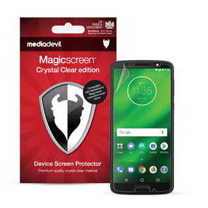 Motorola Moto G6 Plus Screen Protector (Clear) | Magicscreen