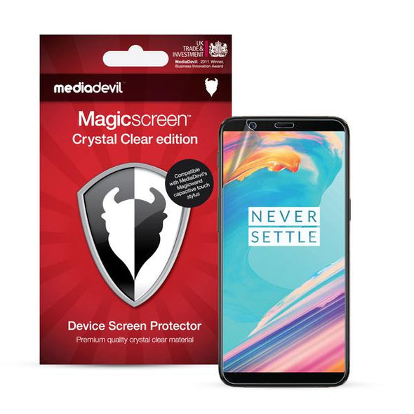 OnePlus 5T Screen Protector (Ultra-Tough Edition, Glass-Free) | Magicscreen