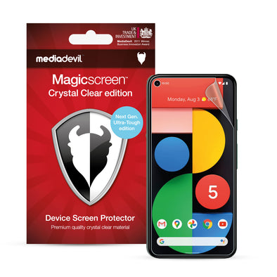 Google Pixel 5 Screen Protector (Ultra-Tough, Glass-Free) | Magicscreen