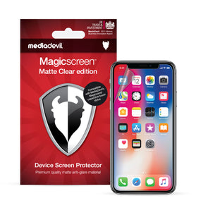 Apple iPhone XS Max (Anti-Glare) Screen Protector | Magicscreen