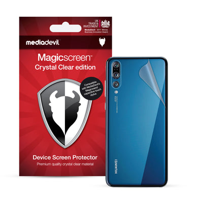Huawei P20 Back Protector Film (Clear) | Magicscreen