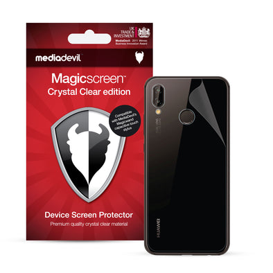 Huawei P20 Lite Back Protector Film (Clear) | Magicscreen