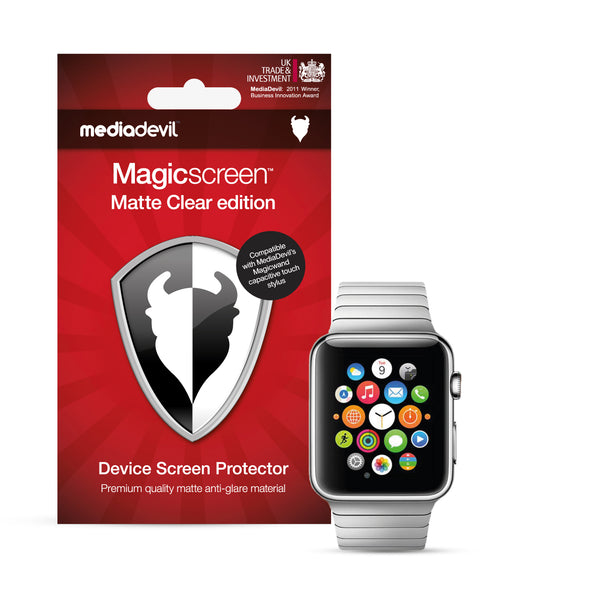 Apple Watch 42mm (Series 3, 2 & 1) Matte Clear (Anti-Glare) Screen Protector | Magicscreen