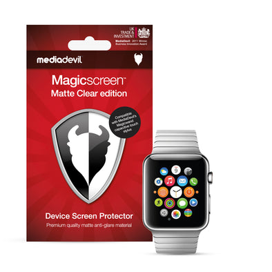Apple Watch 38mm (Series 3, 2 & 1) Matte Clear (Anti-Glare) Screen Protector | Magicscreen