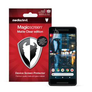 Google Pixel 2 Matte Clear (Anti-Glare) Screen Protector | Magicscreen