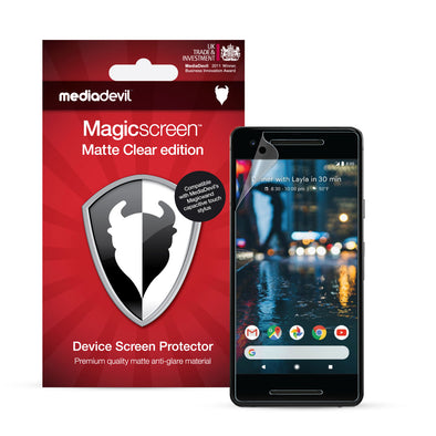 Google Pixel 2 Screen Protector (Matte, Anti-Glare) | Magicscreen