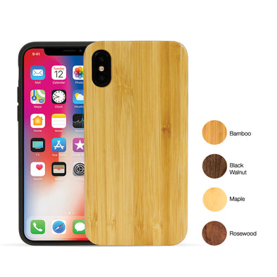 Apple iPhone X Sustainably-Sourced Wood Case | Artisancase