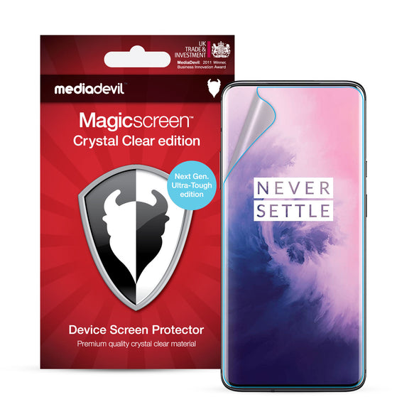 OnePlus 7 Pro Full Screen Protector (Clear) | Magicscreen
