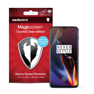 OnePlus 6T Screen Protector (Ultra-Tough Edition, Glass-Free) | Magicscreen