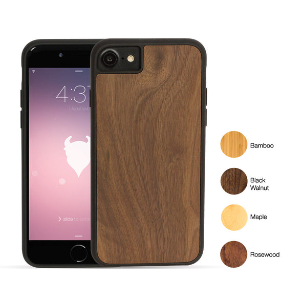 Apple iPhone SE (2020) and iPhone 8/7 Wood Case (Sustainably Sourced) | Artisancase