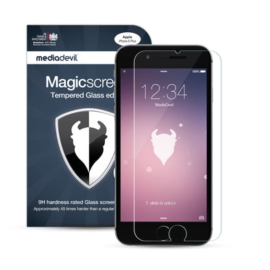 Magicscreen screen protector: Tempered Glass Clear (Invisible) edition - Apple iPhone 6 Plus / 6s Plus