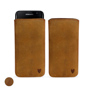 Samsung Galaxy S10 Genuine European Leather Pouch Case | Artisanpouch
