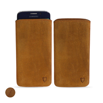 Samsung Galaxy S6 Edge Genuine European Leather Pouch Case | Artisanpouch