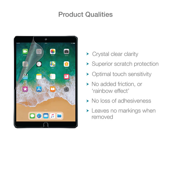 "Apple iPad Pro 10.5"" Screen Protector (Ultra-Tough, Glass-Free) 