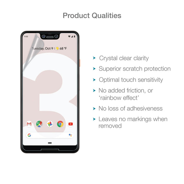 Google Pixel 3 XL Screen Protector (Ultra-Tough Edition, Glass-Free) | Magicscreen