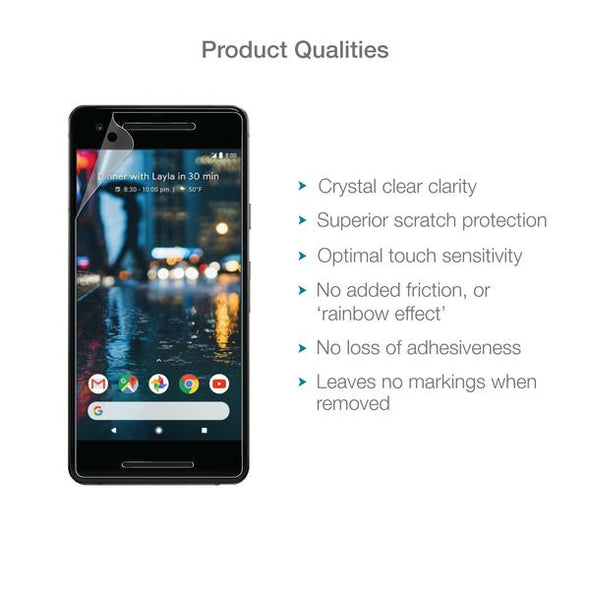 Google Pixel 2 Screen Protector (Ultra-Tough Edition, Glass-Free) | Magicscreen
