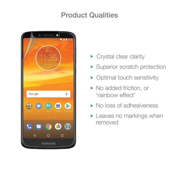 Motorola Moto E5 Plus Screen Protector (Clear) | Magicscreen