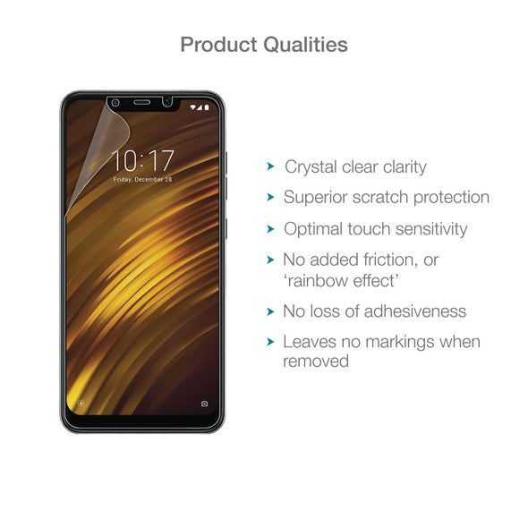 Xiaomi Pocophone F1 Screen Protector (Ultra-Tough Edition, Glass-Free) | Magicscreen