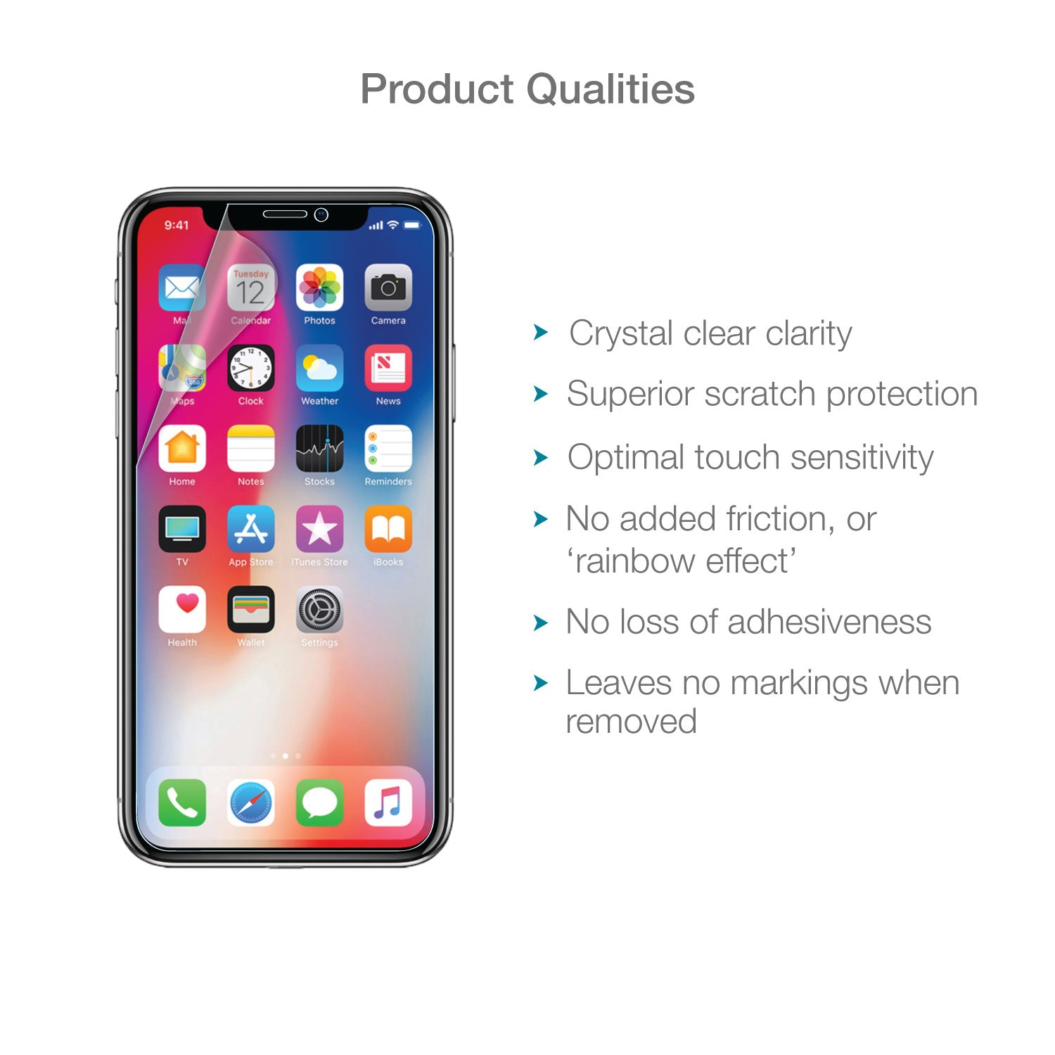 Apple Iphone X Xs Screen Protector Clear Magicscreen